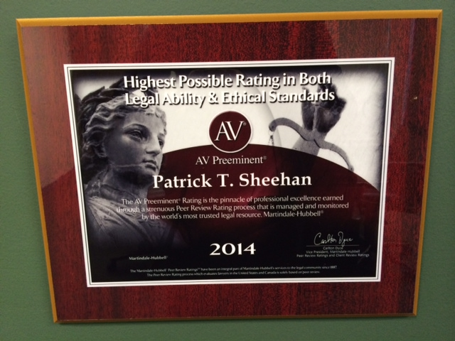 patrick-sheehan-earns-av-preeminent-rating-martindale-hubbell